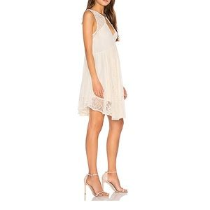 Like New Free People Don't You Dare Dress Cream